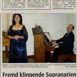 Series of Concert in Frankfurt-on-Main, Germany in October 2006