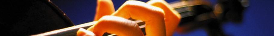 Violinist hand